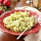 Olive Oil Mashed Potatoes with Pancetta