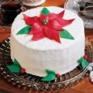 White Chocolate Holiday Cake