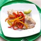 Lime Tilapia with Crisp-Tender Peppers