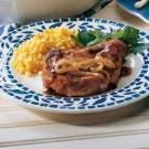 Ginger Pork Chops with Caramelized Onions