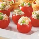 Crab-Stuffed Cherry Tomatoes