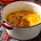Dutch Oven Cheesy Bacon & Eggs