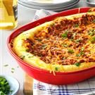Western Beef and Cornmeal Pie