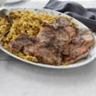 Pork Chops with Corn Bread Stuffing