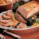 Spinach-Stuffed Pork Roast