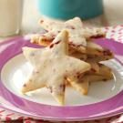 Cranberry Shortbread Stars