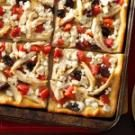 Garlicky Chicken Pizza