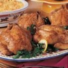 Herbed Cornish Hens