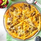 Sausage and Hashbrown Breakfast Pizza