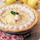 Maple Apple Cream Pie