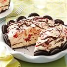 Cookie Ice Cream Pie