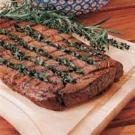 Basil-Stuffed Steak