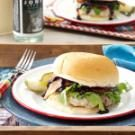 Pork Burgers with Sassy Barbecue Sauce
