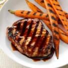 Molasses-Glazed Pork Chops