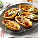 Bacon Cheddar Potato Skins