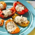 Blue Cheese & Bacon Stuffed Peppers