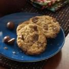Chocolate Malt Ball Cookies