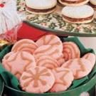 Pink Peppermint Cookies
