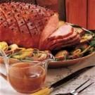 Ham with Maple Gravy