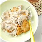 Light Turkey Cutlets Stroganoff