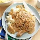 Chicken with Apple-Chardonnay Gravy