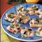 Colorful Crab Appetizer Pizza