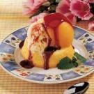 Easy Peach Melba Dessert