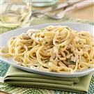 Creamy Clam Linguine