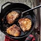 Maple Glazed Pork Chops