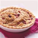 Cranberry Pear Crisp Pie
