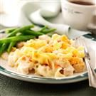 Creamy Chicken Noodle Bake