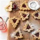 Chocolate-Strawberry Pretzel Cookies