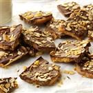 Toffee & Chocolate Bark with Toasted Almonds