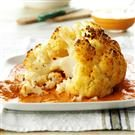 Cauliflower with Roasted Almond & Pepper Dip