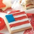 Sugar Star & Flag Cookies