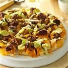 Favorite Cheeseburger Pizza