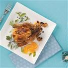 Festive Stuffed Cornish Game Hens