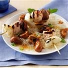 Fig & Wine-Sauced Chicken Kabobs