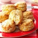Flaky Cheddar-Chive Biscuits