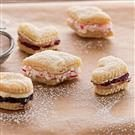 Flaky Creme-Filled Cookies