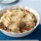 French Onion Turkey Shepherd's Pie