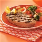 Garlic Herbed Grilled Tuna Steaks