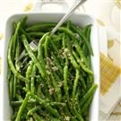 Garlic-Sesame Green Beans