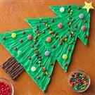 Giant Christmas Tree Cookie