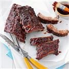 Glazed BBQ Ribs