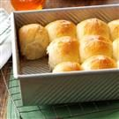 Golden Honey Pan Rolls