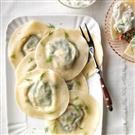 Greek Salad Ravioli
