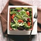 Green Salad with Tangy Basil Vinaigrette for Two