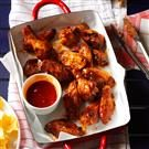 Grilled Cherry-Glazed Chicken Wings