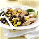 Grilled Chicken with Black Bean Salsa